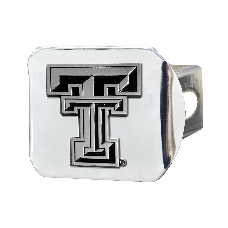 FANMATS NCAA Texas Tech University Red Raiders Chrome Hitch Cover 15100
