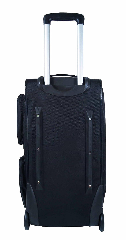 Outdoor Gear - Sac à roulettes en nylon balistique - env. 62 cm de longueur - Grand - Noir OQMmZ