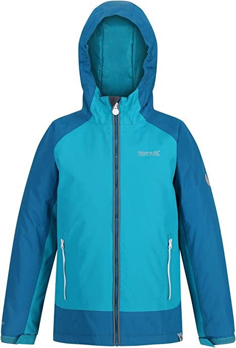 Unisex ni/ños Regatta Hurdle Iii Insulated Waterproof Jacket Chaqueta aislante impermeable