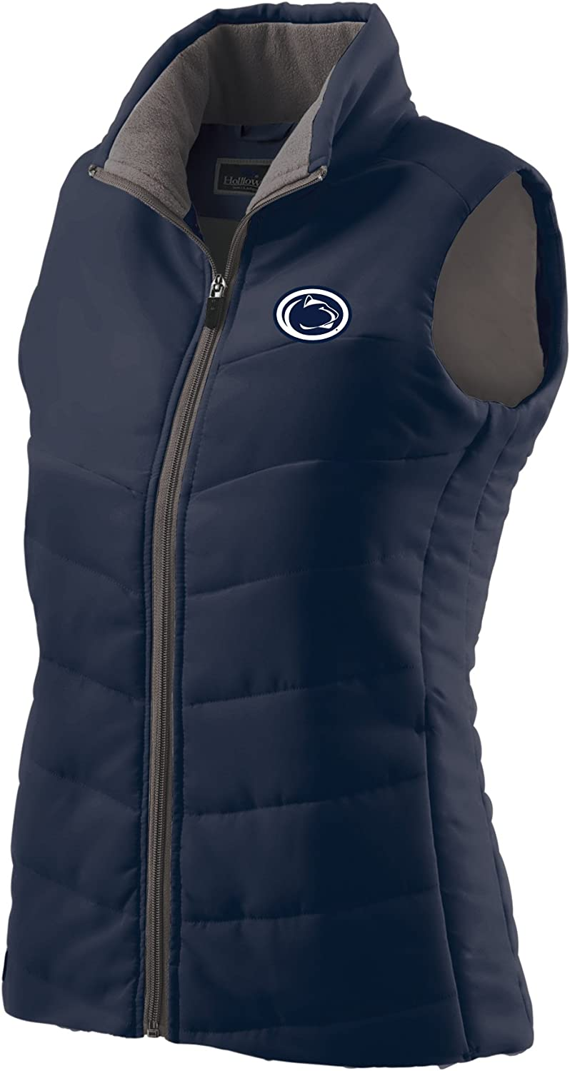 Ouray Sportswear NCAA Penn State Nittany Lions Womens Admire Vest Navy Medium