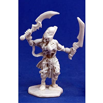 Reaper Mummy Captain (1) Miniature: Toys & Games