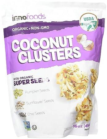 innofoods Coco grupos con orgánico Super semillas (calabaza ...