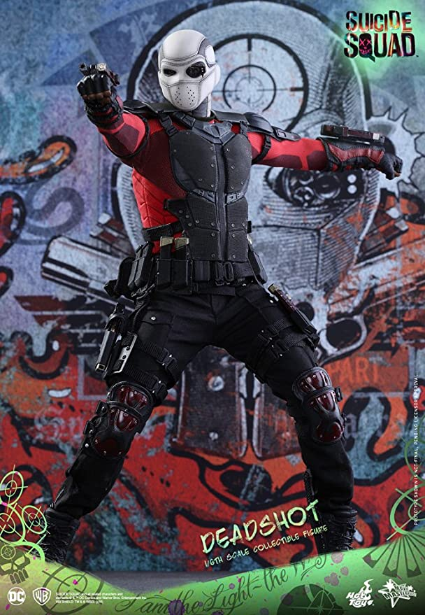 Hot Toys Suicide Squad Deadshot Long Sleeved Shirt loose 1//6th scale