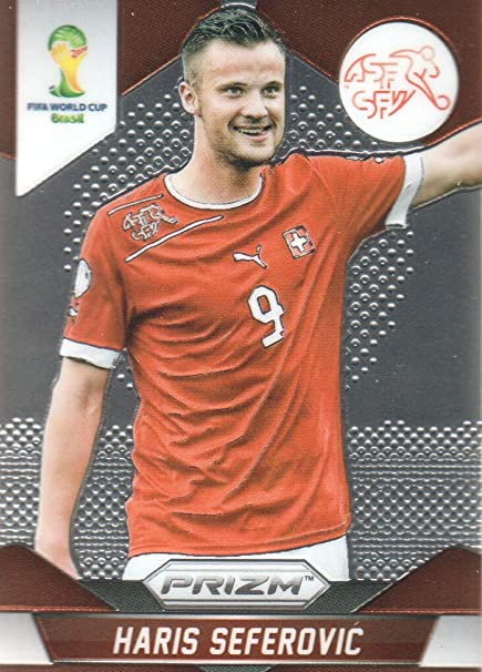 2014 Panini Prizm Fifa World Cup Soccer 188 Haris Seferovic Switzerland At Amazon S Sports Collectibles Store