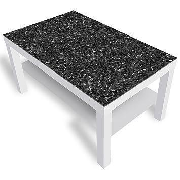 Dekoglas Ikea Lack Beistelltisch Couchtisch Granit Sofatisch Mit
