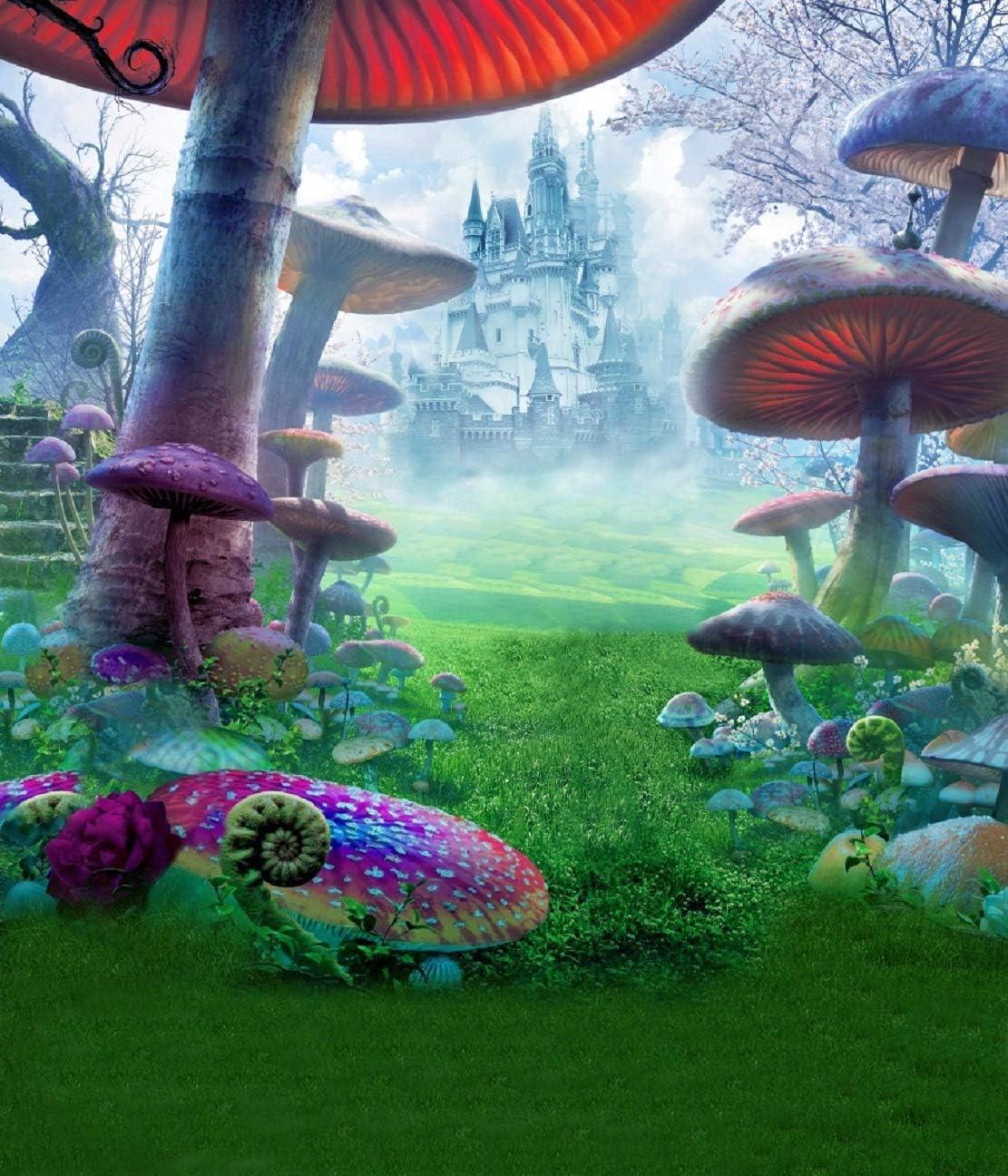 Ooozkken 10X10FT Fantasy Background Theme Newborn Photography Studio Photography
