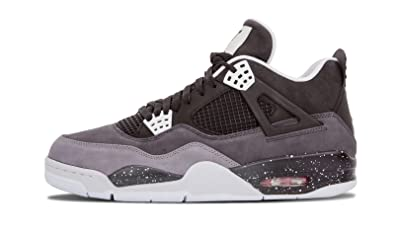 buy popular 9fbff 468fe Nike Air Jordan 4 Retro Fear Pack- Black White-Cool Grey-Pr