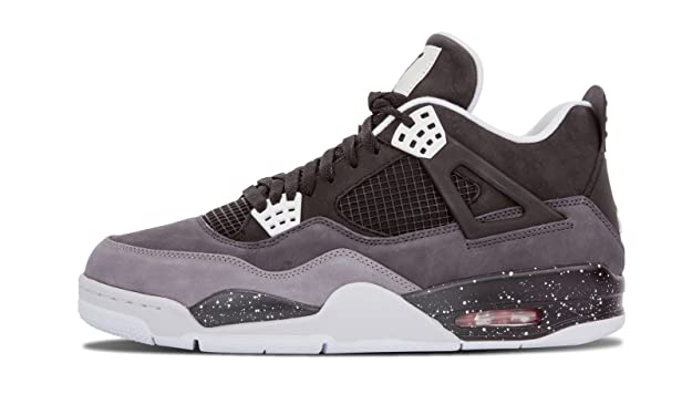 huge selection of 24307 25184 Nike Air Jordan 4 Retro Fear Pack- Black White-Cool Grey-Pr Pltnm   Amazon.fr  Chaussures et Sacs