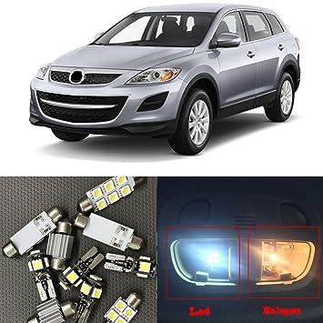 nslumo LED Interior Kit de paquete para Mazda CX-9 CX-7 CX-5 CX5 CX7 CX9: Amazon.es: Coche y moto