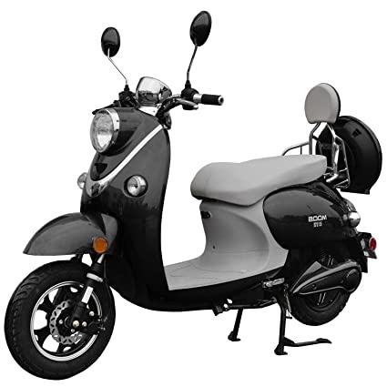 Amazon com : Motor HQ Boom 800W 48V Electric Moped Scooter