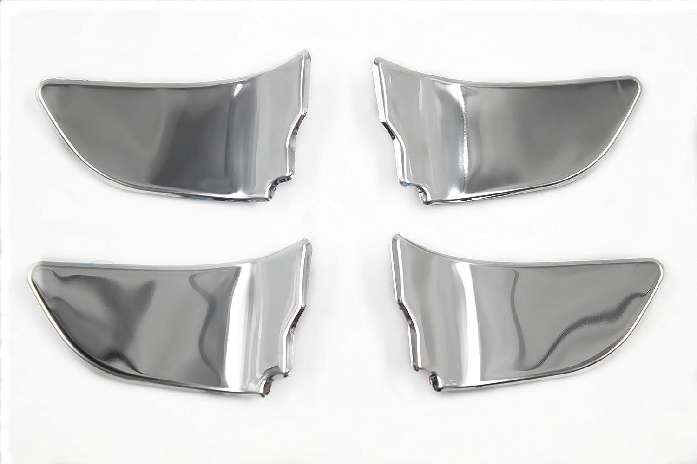 JL-BRAND Aluminum Air Conditioning Adjust Knob Circle Cover Trim for Subaru XV 2017 2018(Sliver)