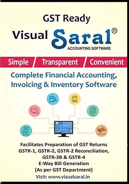 Saral Accounting Software - GST Ready Financial Accounting