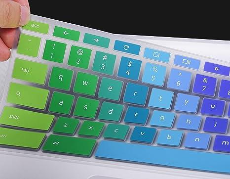 Cubierta para teclado para ASUS Chromebook Flip C302CA 12,5 ...