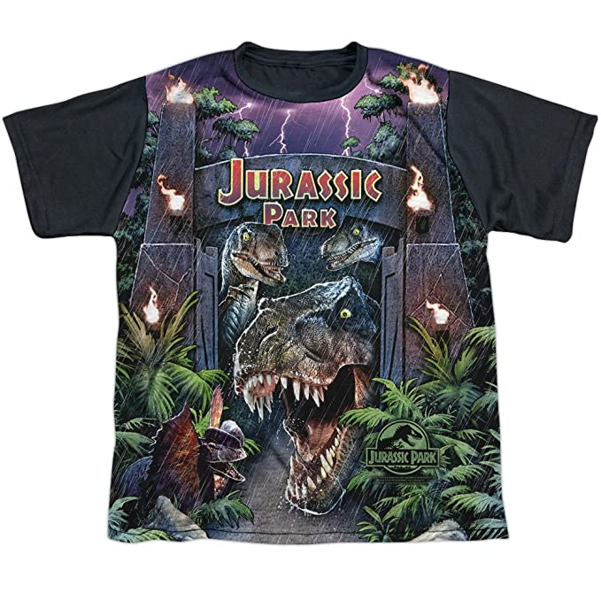 Jurassic Park - Camiseta de manga corta - Camiseta gráfica - Manga corta - opaco - para niño: Amazon.es: Ropa y accesorios