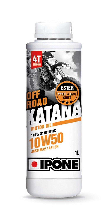 Ipone 800015 Huile Moteur Katana Off Road 4 Temps Performance 10W50 Tout Terrain IPONE SA