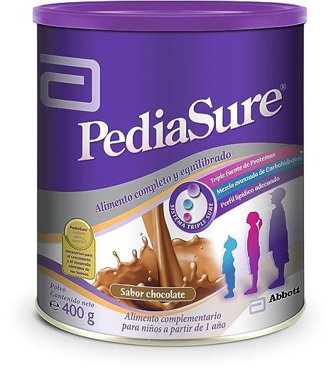 PediaSure Polvo lata 400g sabor chocolate. Alimento completo y equilibrado para niños a partir de