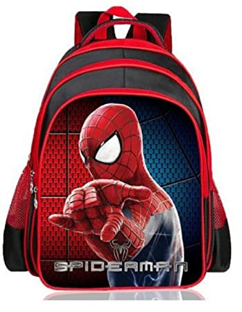 Amazon.com : Hot Cartoon Spiderman Backpacks For Kids Children School Bags Primary Backpack Boy mochila (1PC, Style 1) : Baby