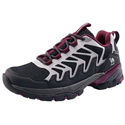 Womens Breathable Athletic Hiking Shoes Trail Climbing Nonslip  Outdoor Sneakers