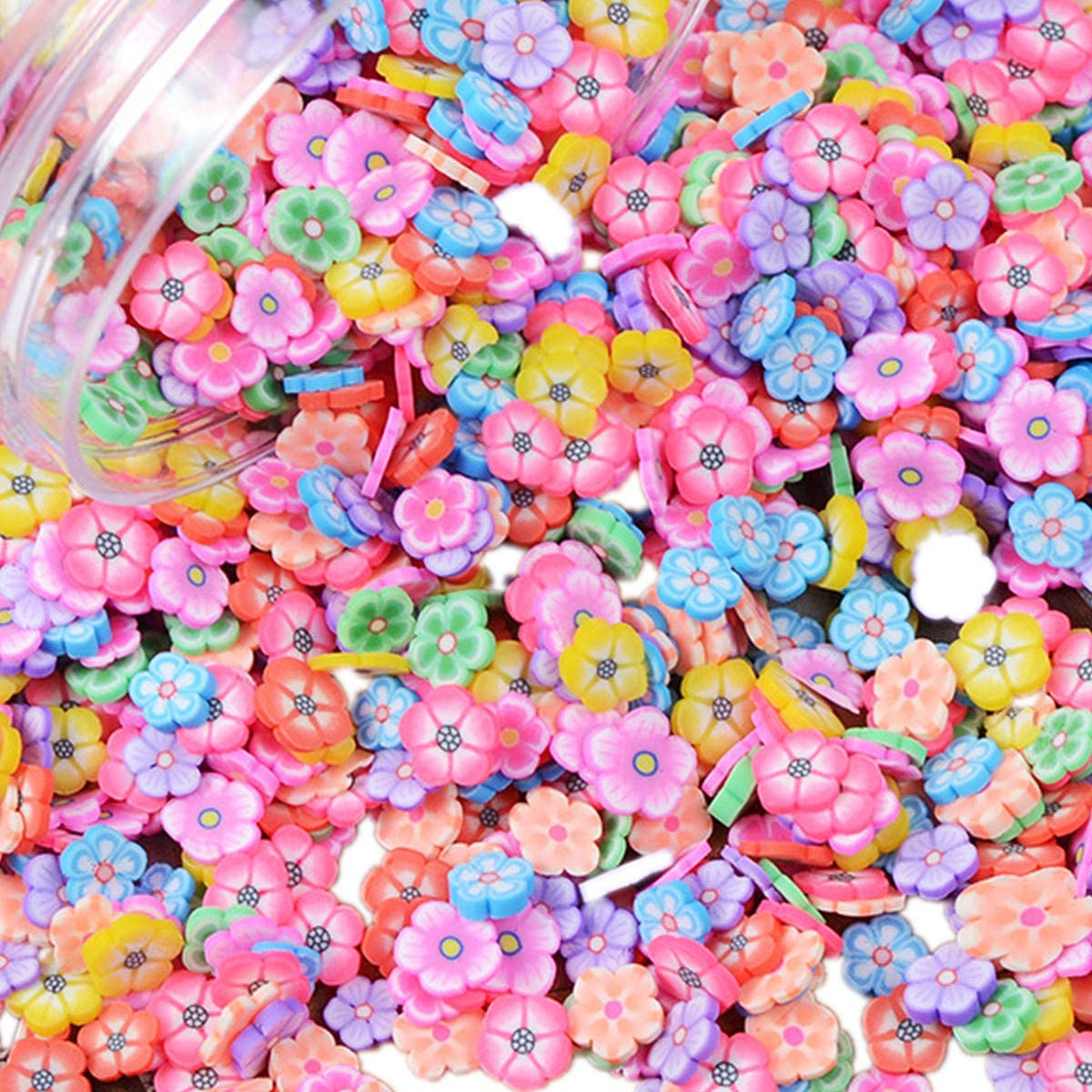 100 Pack Fruit Slime Charms Resin Flatbacks Buttons Polymer Clay Beads for Miniature Fairy Garden Hair Accessories DIY Scrapbooking Phone Case Jewelry Making Home Decoration Dragon Fruit