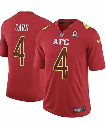 on sale c981f 01669 Amazon.com: Derek Carr Oakland Raiders Nike 2017 NFC Pro ...