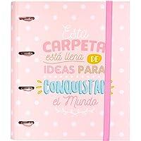 Grupo Erik Editores CAT0016 - Carpeta 4 Anillas Troquelada Premium Carouge