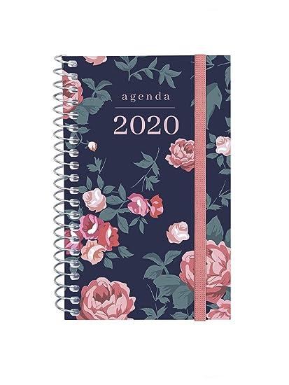 Finocam - Agenda 2020 semana vista apaisada Espiral Design Collection Elegant portugués