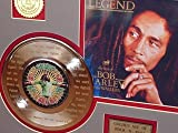"Bob Marley Legend""Get Up Stand Up"" Framed 24Kt Gold Record Display"