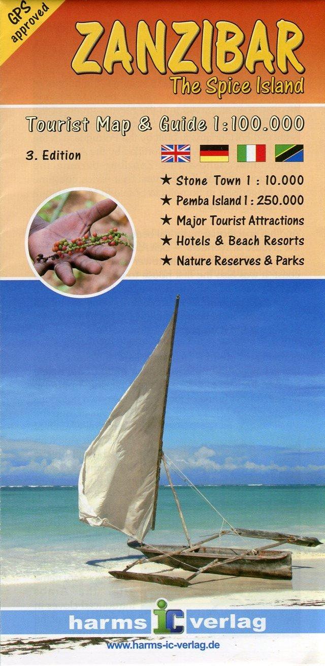 Zanzibar 1:100,000 & Pemba 1:250,000 Travel Map HARMS pdf
