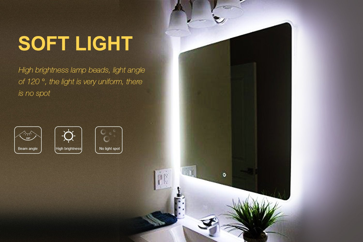 Led vanity mirror lights kitvilsom 13ft4m 240 leds make up vanity led vanity mirror lights kitvilsom 13ft4m 240 leds make up vanity mirror light for vanity makeup table set with dimmer and power supplymirror not mozeypictures Choice Image