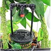 Reptile Drinking Water Dripper Lizard Dispenser Terrarium Habitats