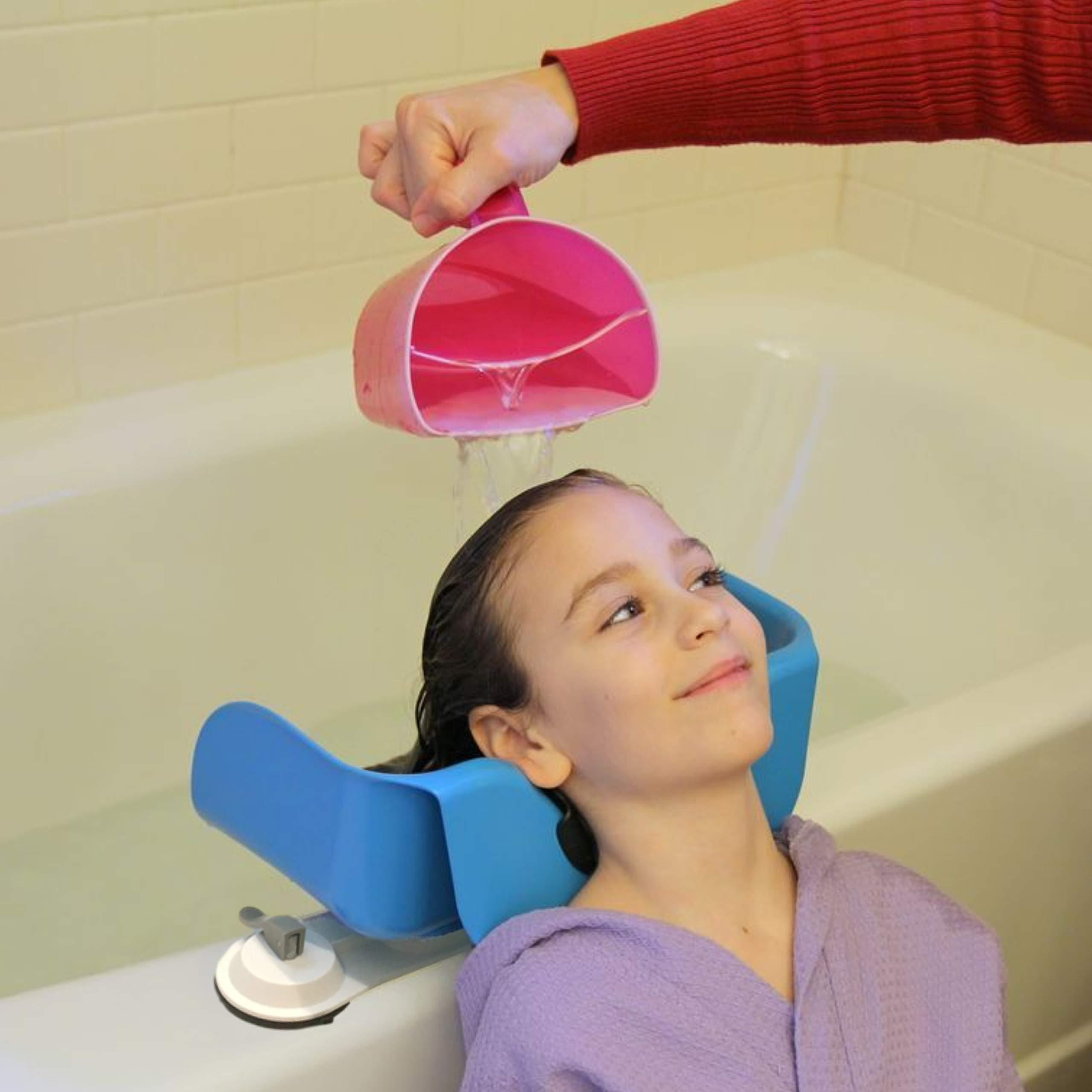 Shampoo Buddy Tear-Free Rinser for Children (Blue) by Shampoo Buddy (Image #5)