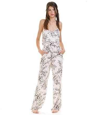 30a7d4aed92bdc Vila Jumpsuit Rosa Vigola Strap XL Mehrfarbig: Amazon.de: Bekleidung
