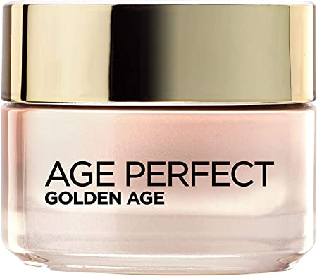 L'Oréal Paris Dermo Expertise Age Perfect – Crema Rosa Anti Arrugas Golden Age, para Pieles Maduras, 50 ml