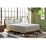 Brentwood Home Cedar Natural Latex Hybrid Mattress, GREENGUARD Gold & Oeko-TEX 100 &