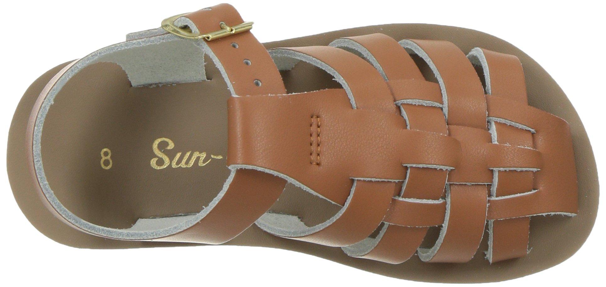f6f1c4b4a943 Salt Water Sandals by Hoy Shoe Baby Sun-San Sailor Flat Sandal