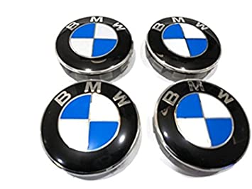 BMW E30,E36,E46,E92 1,3,5,6,7,X5 X6 M3 M5 M6 Z4 ALLOY WHEEL CENTRE CAP 68mm