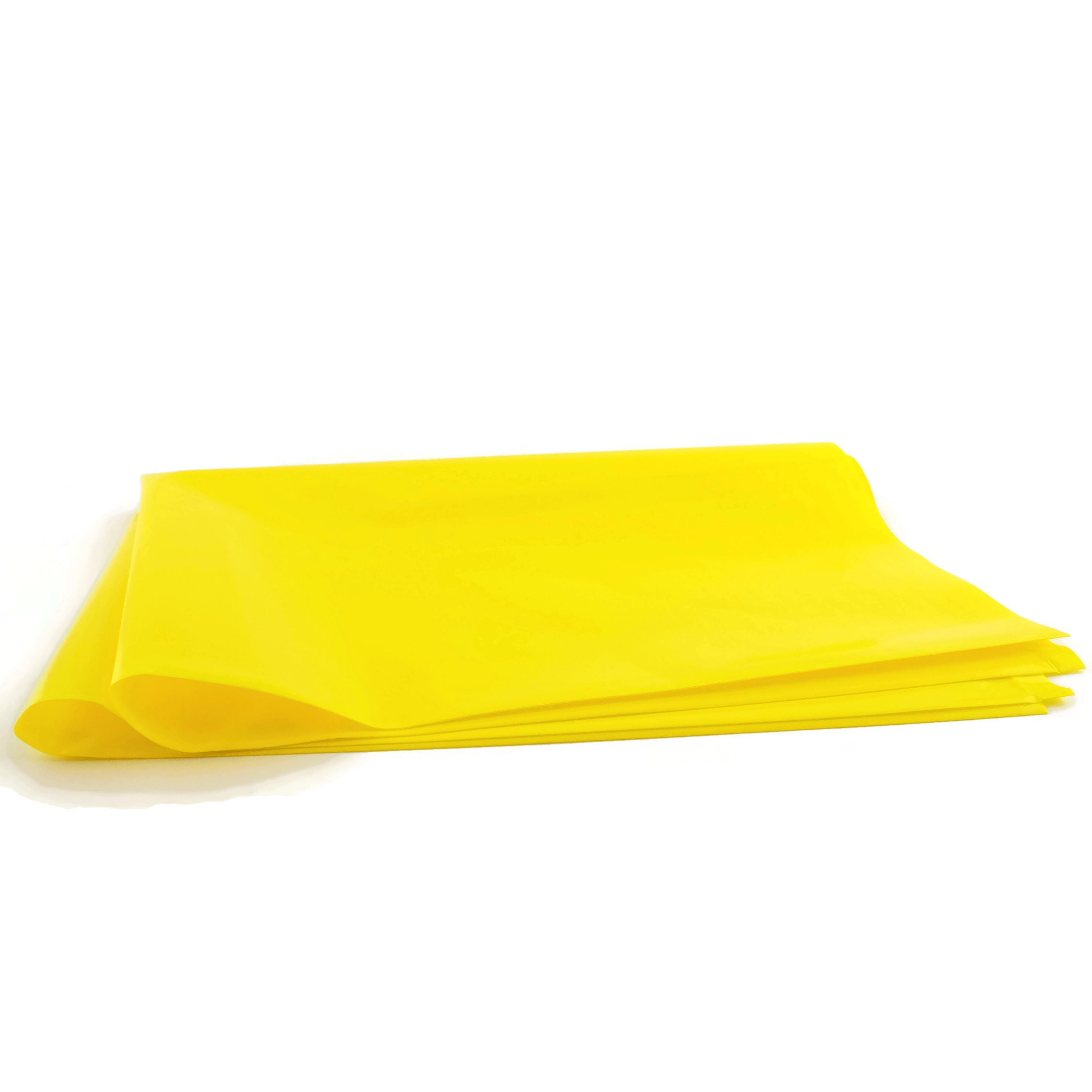 Radioactive Waste Disposal Bags, 4 Mil Thick, 18 x 24 Inches, Yellow Opaque, Unprinted, 25 per Package