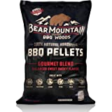 Bear Mountain BBQ 100% All-Natural Hardwood Pellets - Gourmet Blend (20 lb. Bag) Perfect for Pellet Smokers, or Any Outdoor G