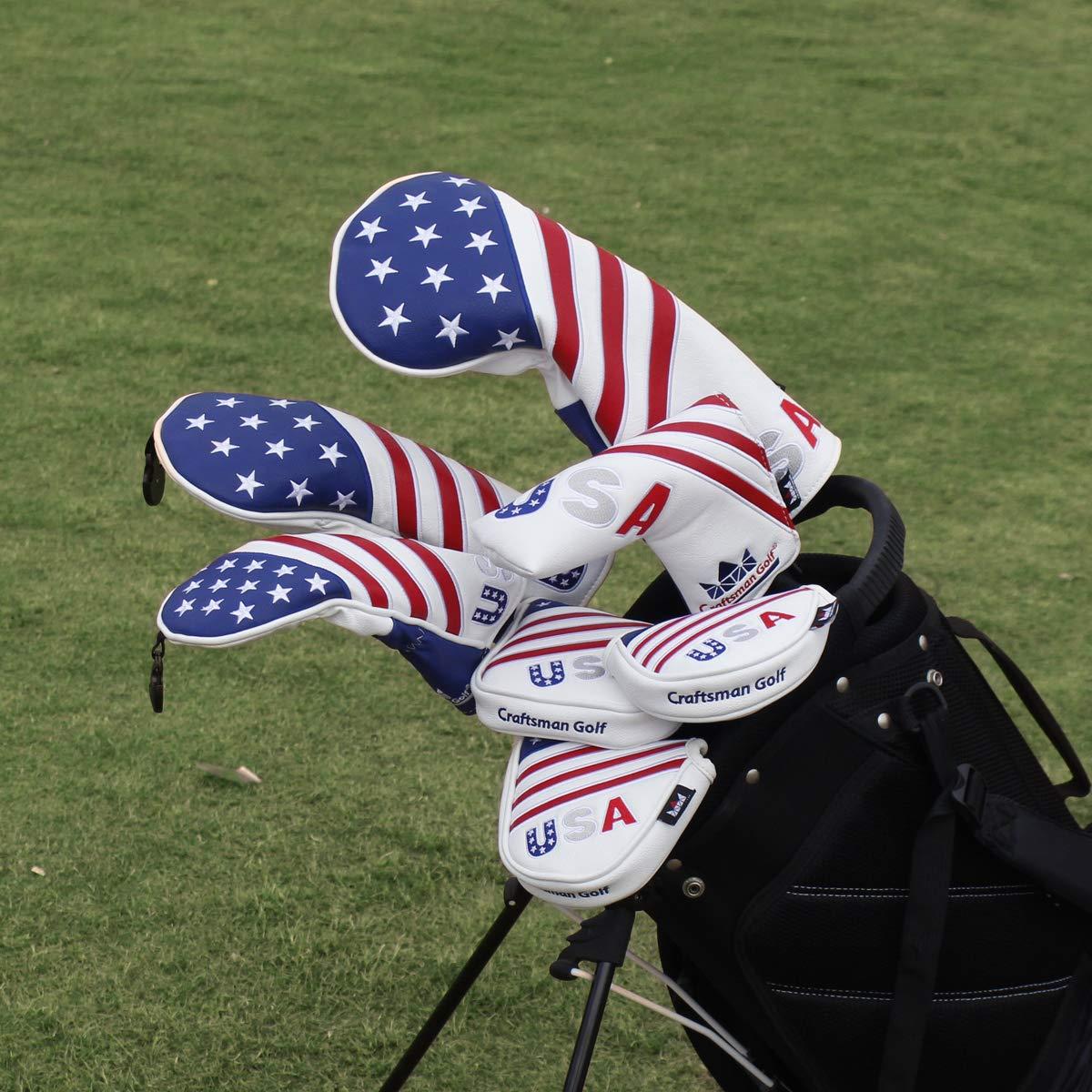 Amazon.com: Craftsman Golf Red/White/Blue USA Flag Driver ...