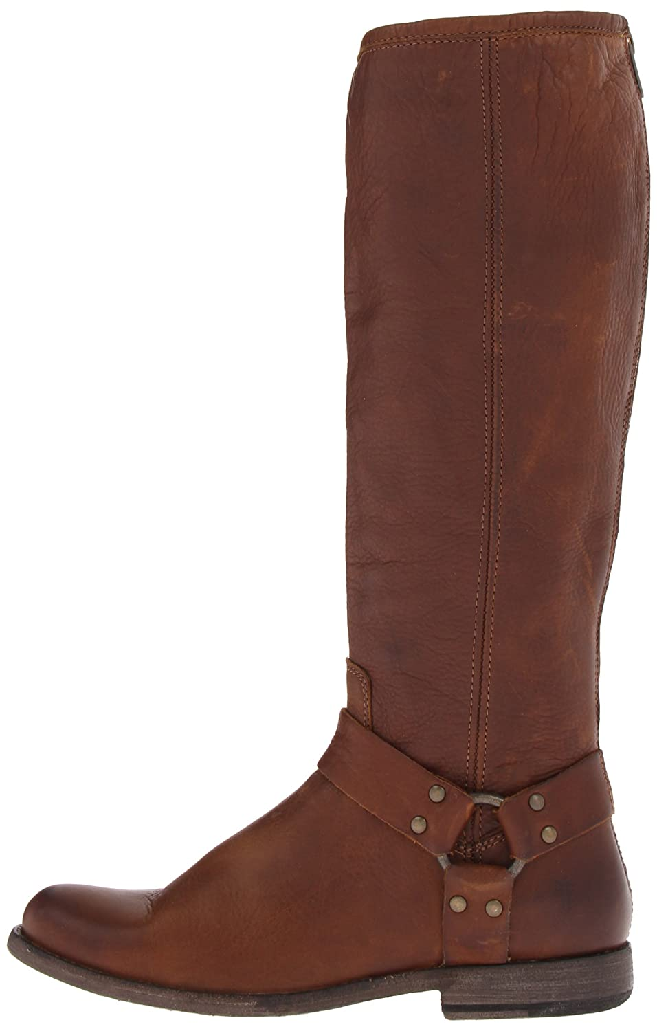 FRYE Women's US|Cognac Phillip Harness Tall Boot B004W25WOG 6 B(M) US|Cognac Women's Soft Vintage Leather-76850 19b342