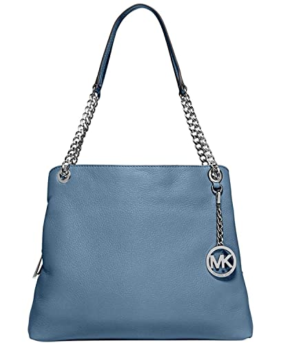737e85a5c656 Michael Kors Jet Set Chain Item Large Leather Shoulder Bag (Cornflower):  Handbags: Amazon.com
