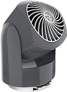 Vornado Flippi V6 Personal Air Circulator Fan, Storm Gray