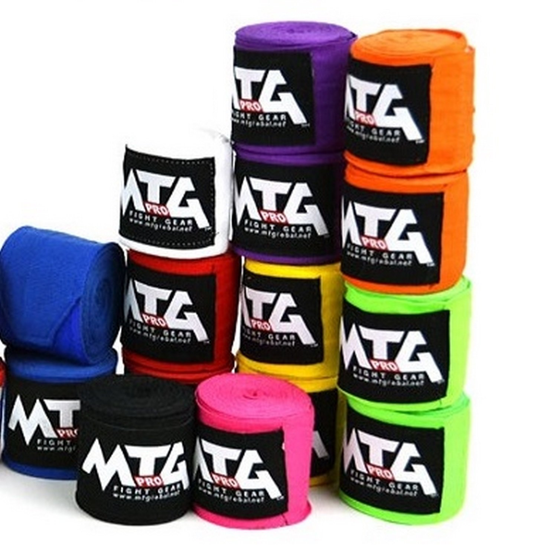 MTG Pro Mano vendas el/ásticas /Extra Larga vendas MMA Cajas vendas wickelb andagen Cajas Muay Thai 5/m de largo/