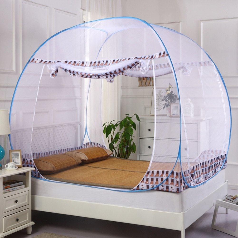 Moskitonetz Lazy Zelt Doppelhaus Frei Installation 1.5M1.8M Bett Einfach Erhöhte Moskitonetze,1.52M