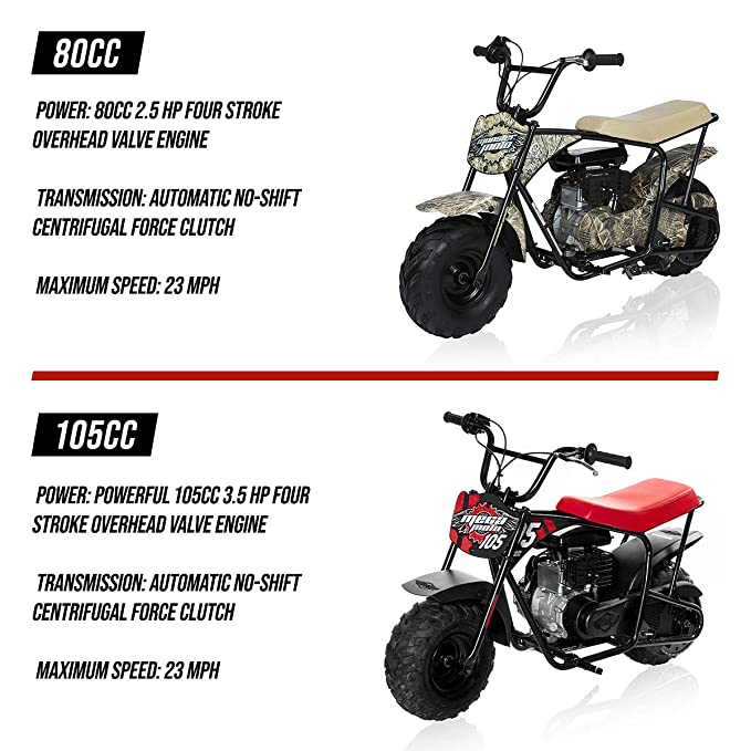 Monster Moto mm-b80 jóvenes Mini Bike (Realtree Camo): Amazon.es: Coche y moto