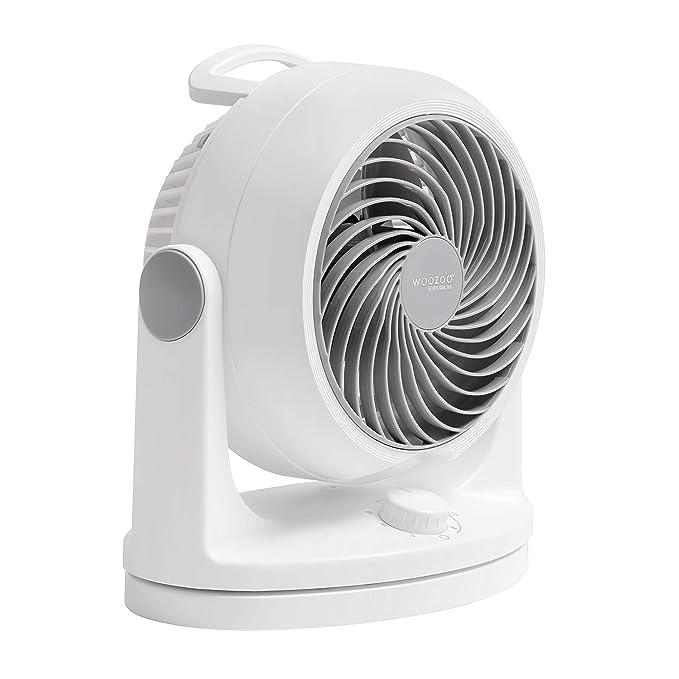 Woozoo HD18U Oscillating Circulating Fan, White