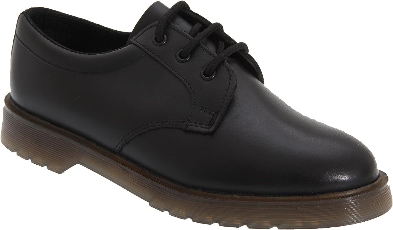 Grafters - Zapatos de cordones de cuero para hombre negro negro