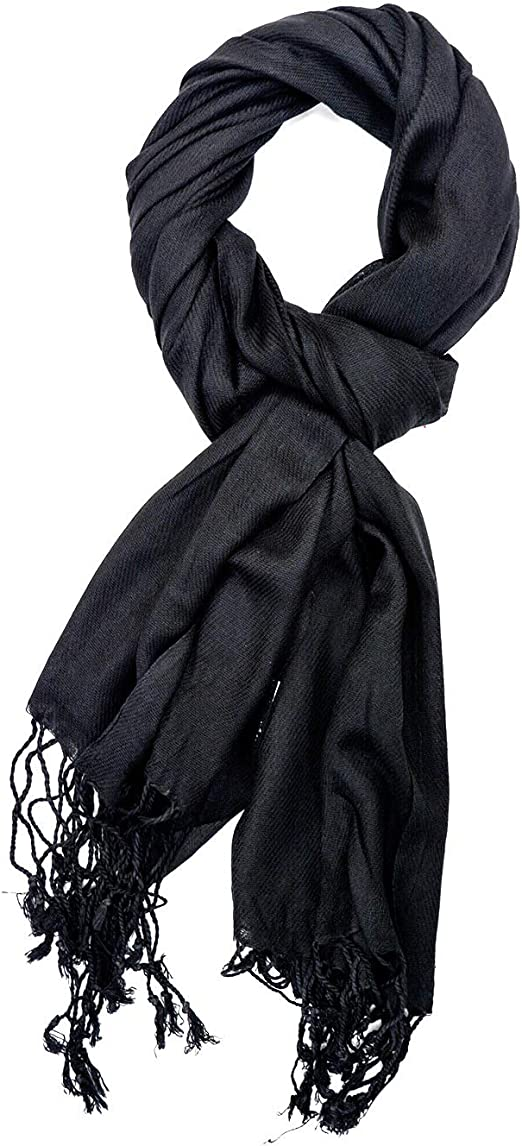 Fashion Women/'s Lady VISCOSE SILK PASHMINA Wraps Shawl Stole Scarves