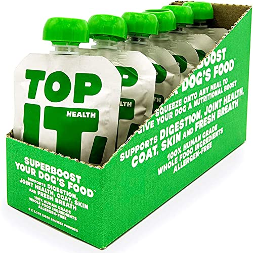 TopIt Healthy Dog Food Nutritional Supplement Supports Digestion