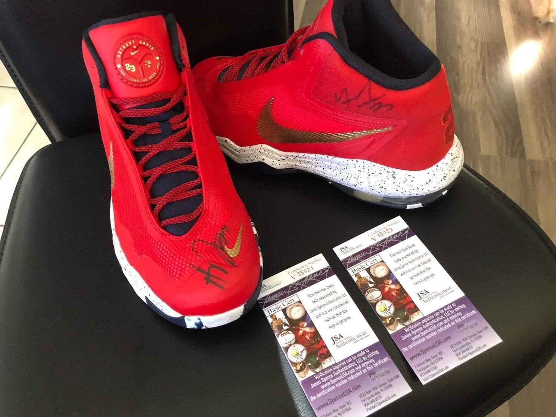 Anthony Davis Nba Autographed Signed Memorabilia Nike Air